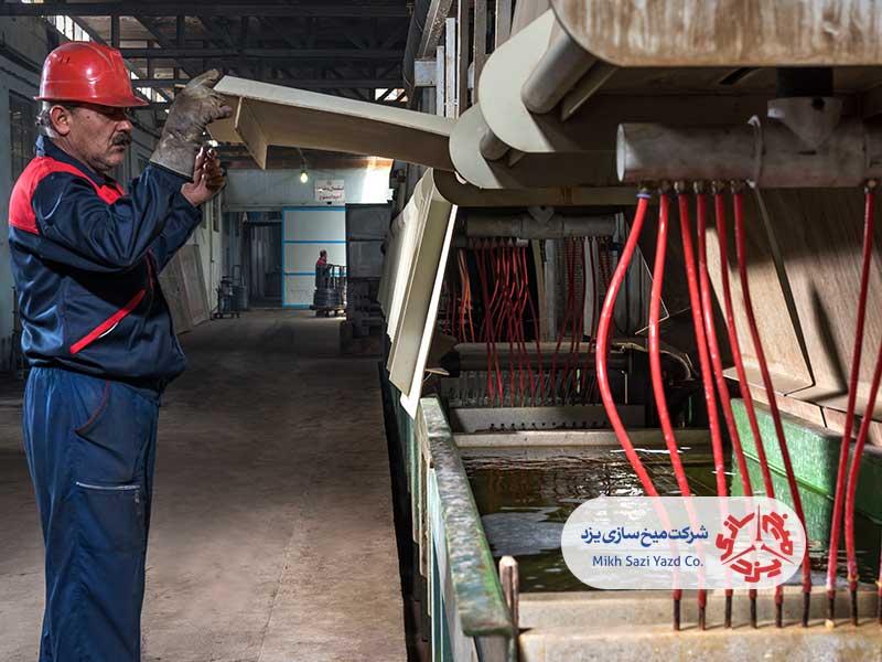 کارخانه تولید مفتول گالوانیزهانبوه مفتول